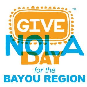 GiveNOLA day Bayou Region logo